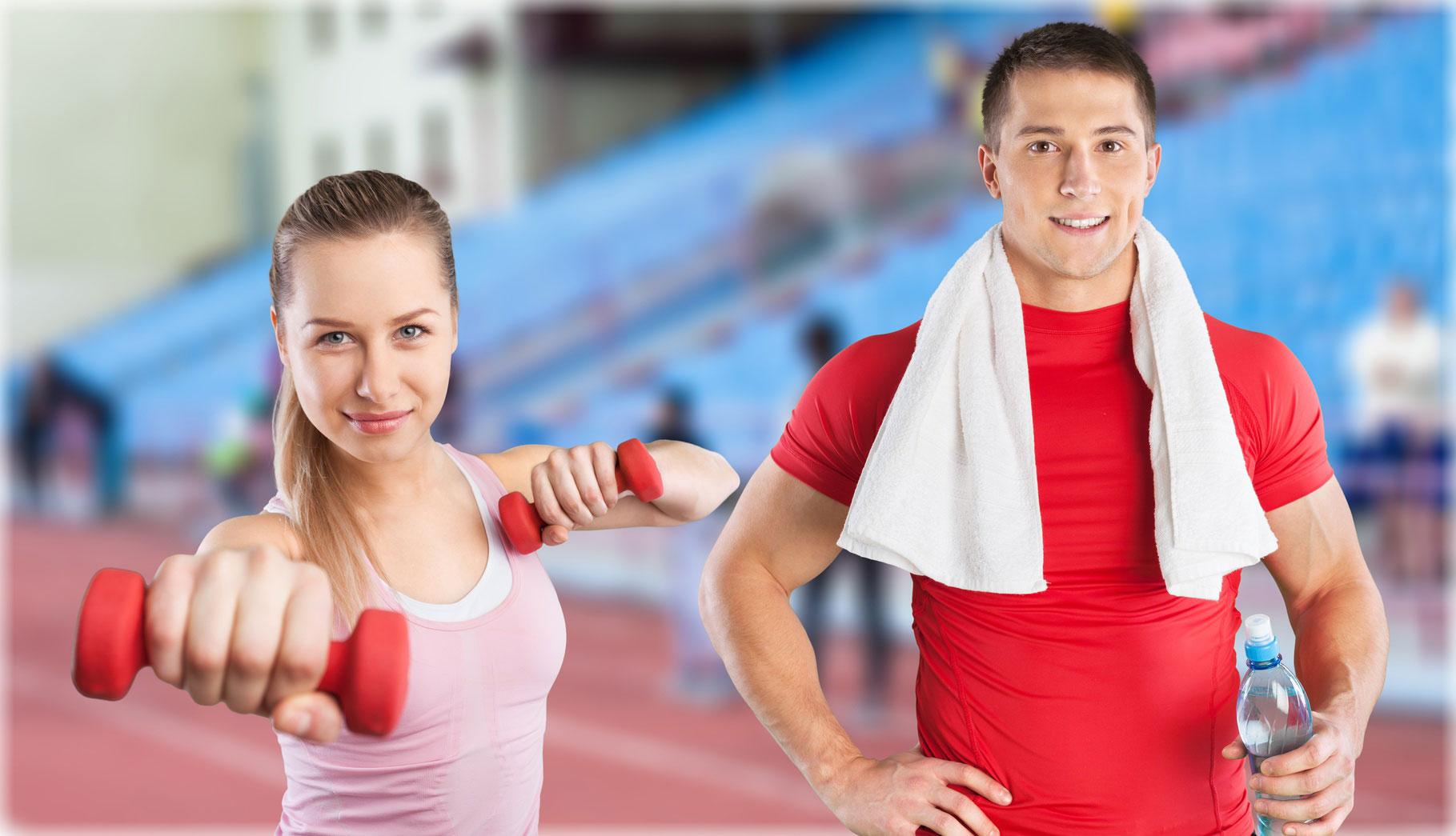 vom Fitnesskurs bis zur Rückenschule