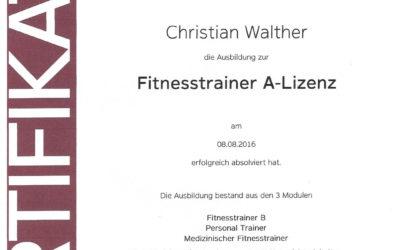 Medizinischen Fitnesstrainer