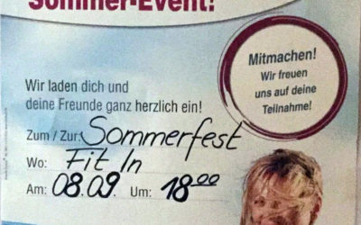 Fit In Sommerfest
