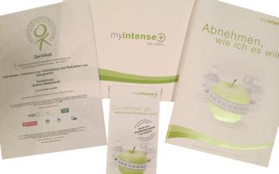 Zertifizierung des Onlinekurses myintense+