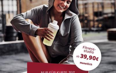 Fitnesstraining in Finsterwalde ab 39,90 €